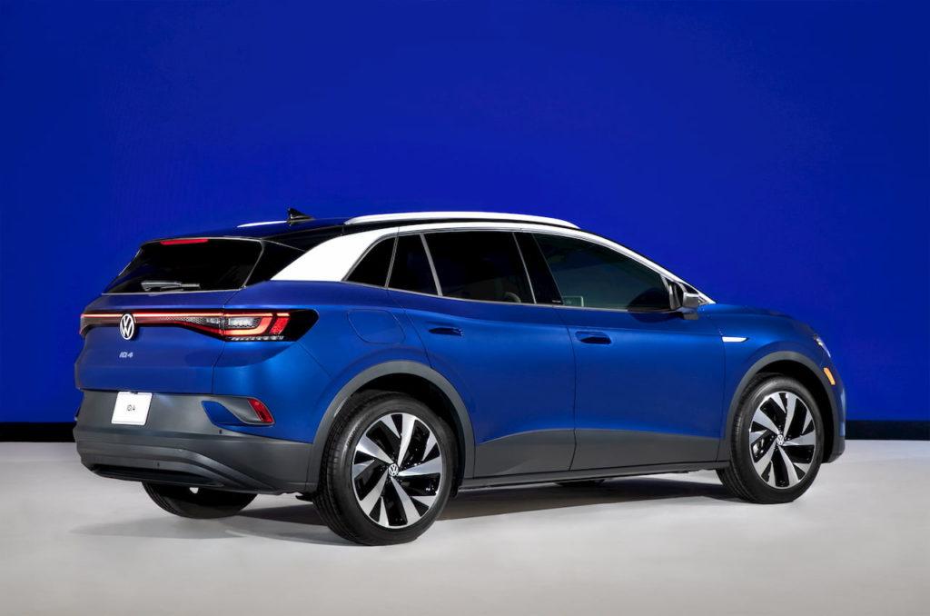 US-spec VW ID.4 rear quarters