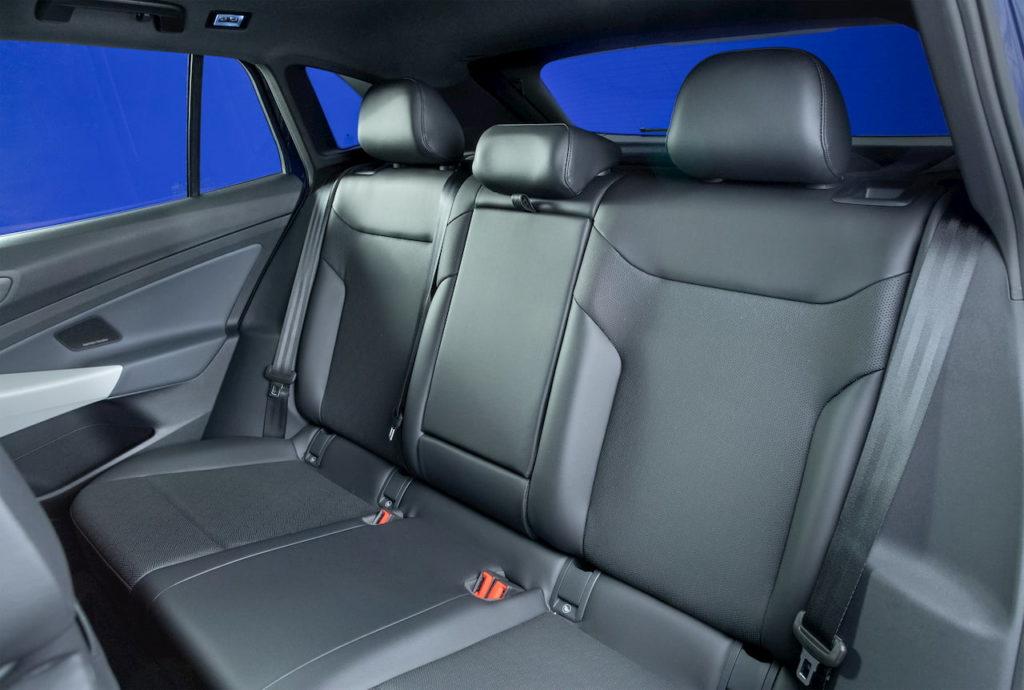 US-spec VW ID.4 rear seats