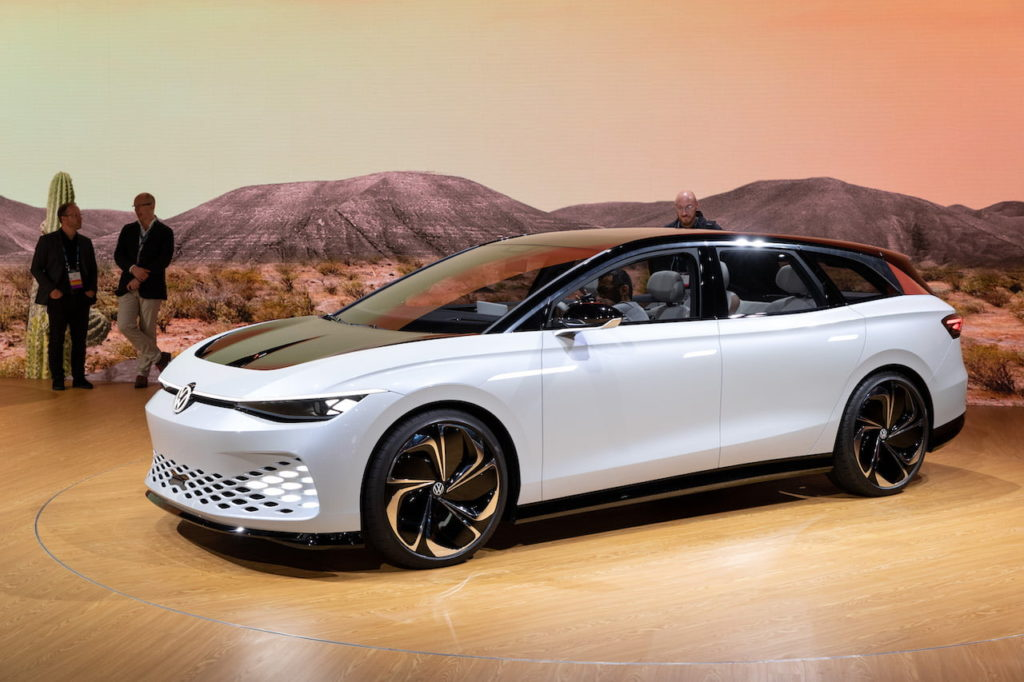 VW ID. Space Vizzion LA Auto Show 2019