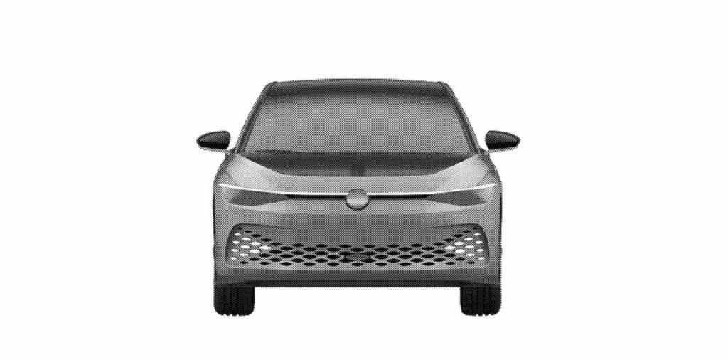 VW ID. Space Vizzion front patent