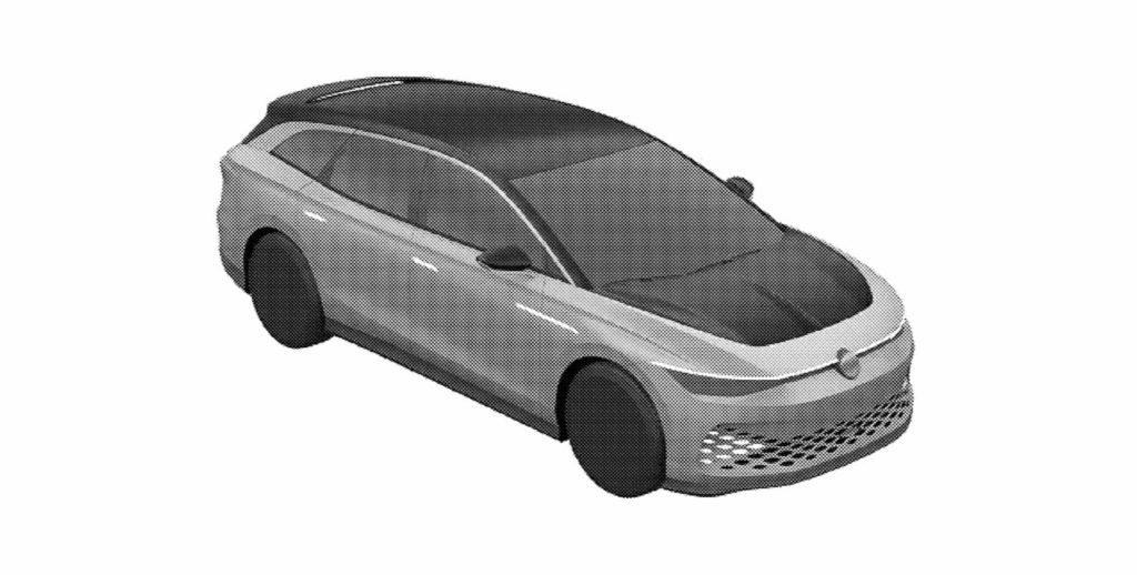 VW ID. Space Vizzion front quarters patent