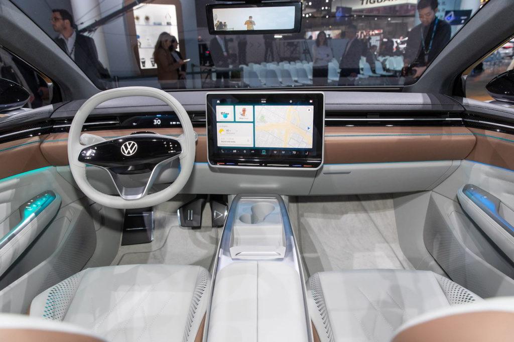 VW ID. Space Vizzion interior dashboard