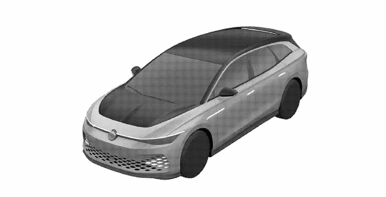 VW ID. Space Vizzion patent front quarters