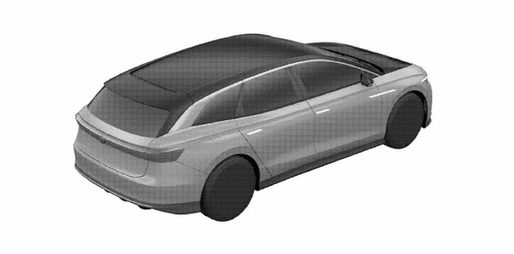 VW ID. Space Vizzion patent rear quarters