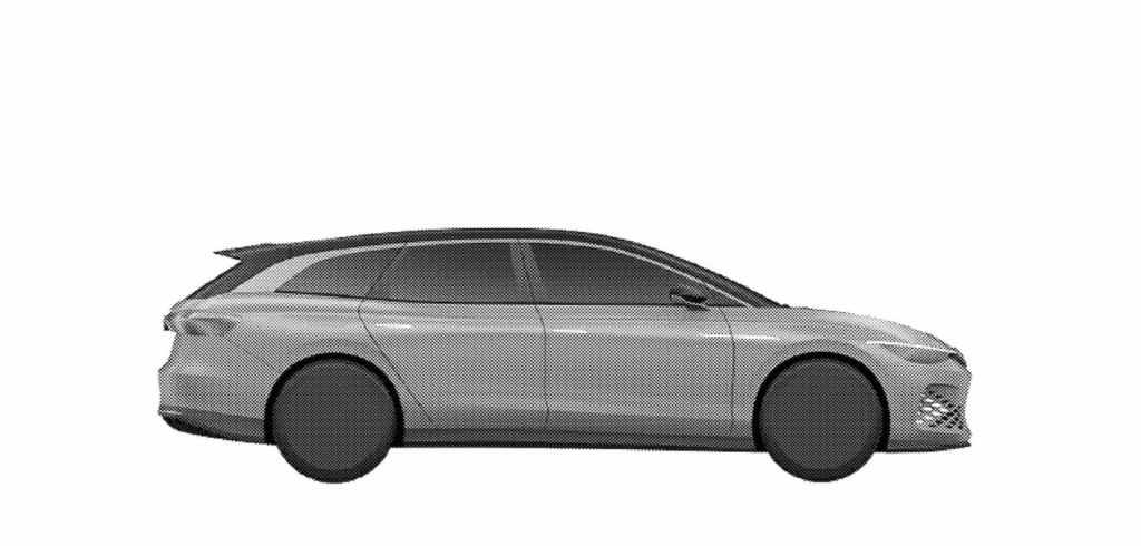 VW ID. Space Vizzion profile patent