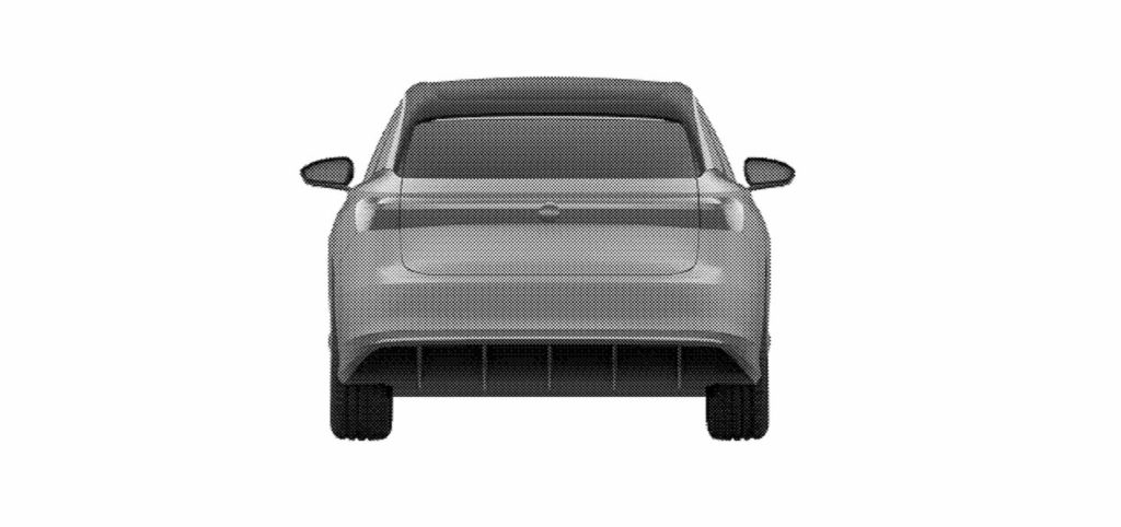 VW ID. Space Vizzion rear patent