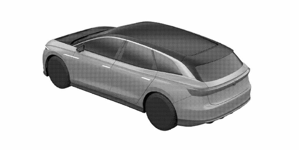 VW ID. Space Vizzion rear quarters patent