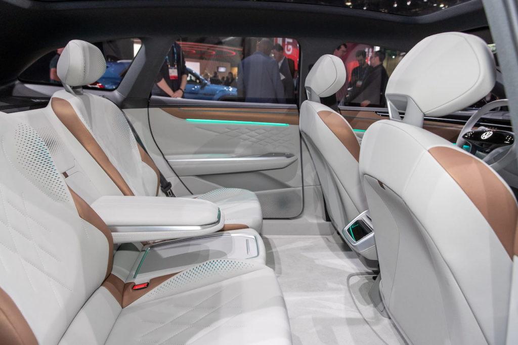 VW ID. Space Vizzion rear seats interior
