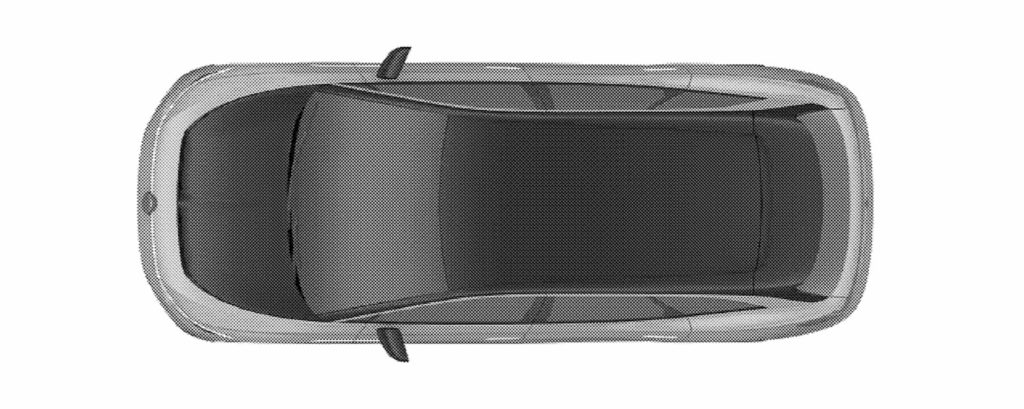 VW ID. Space Vizzion roof top patent