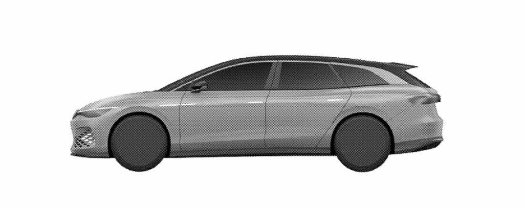 VW ID. Space Vizzion side patent