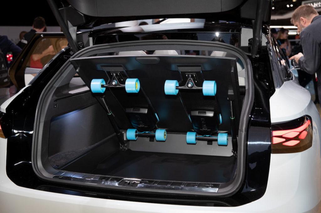 VW ID. Space Vizzion trunk