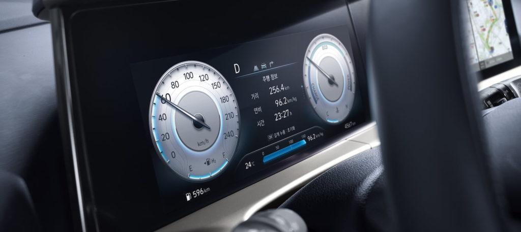 2021 Hyundai Nexo instrument cluster 10.25 inch
