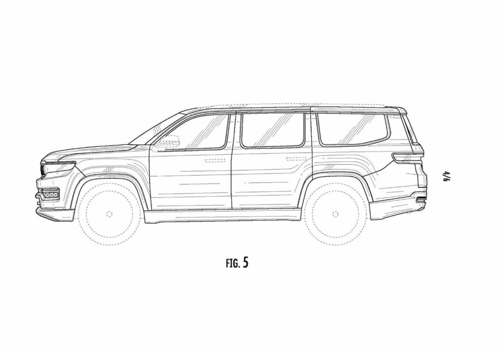2022 Jeep Grand Wagoneer profile patent image