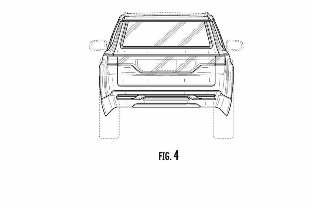 2022 Jeep Grand Wagoneer rear patent image