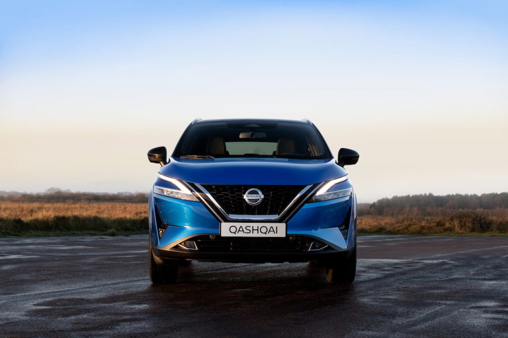 2022 Nissan Rogue Sport Qashqai front