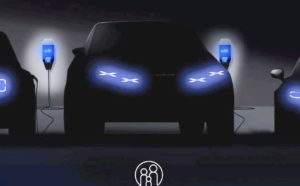 Alpine electric SUV teaser front