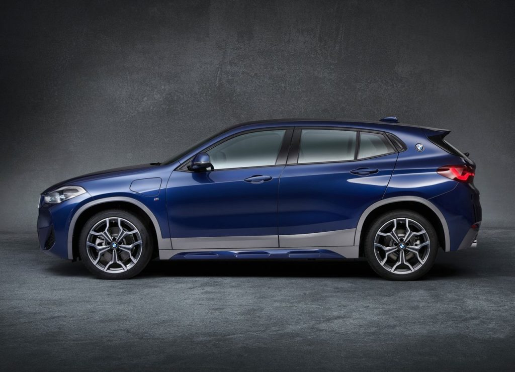 BMW X2 PHEV side