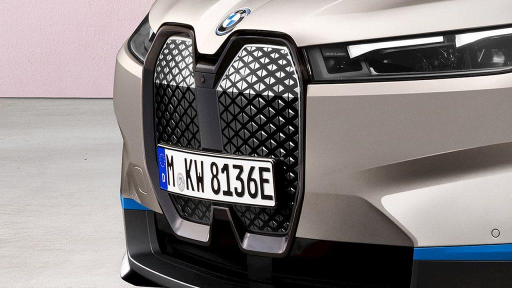 BMW iX grille