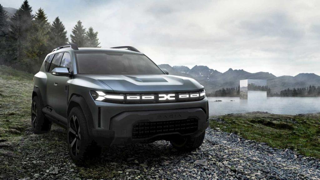 Dacia Bigster SUV concept front