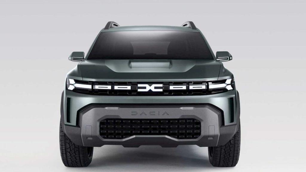 Dacia Bigster SUV concept grille