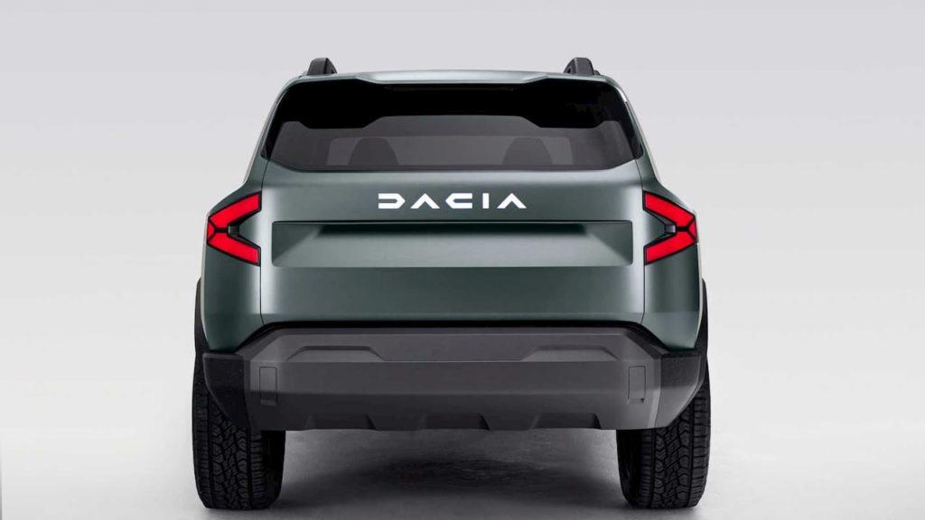 Dacia Bigster SUV concept rear