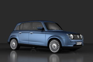 Electric Renault 4 EV rendering