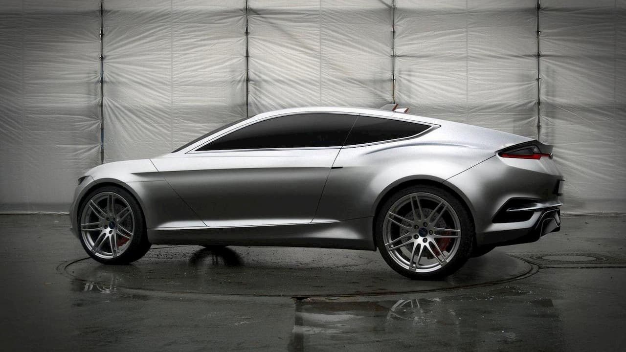 Ford Evos Concept side