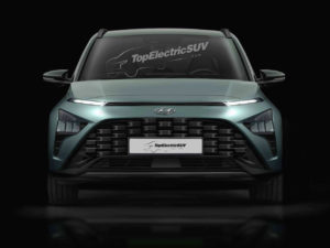 Hyundai Bayon crossover render front angle