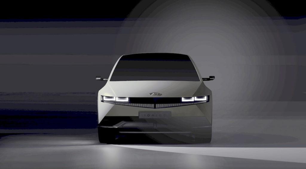 Hyundai Ioniq 5 front teaser