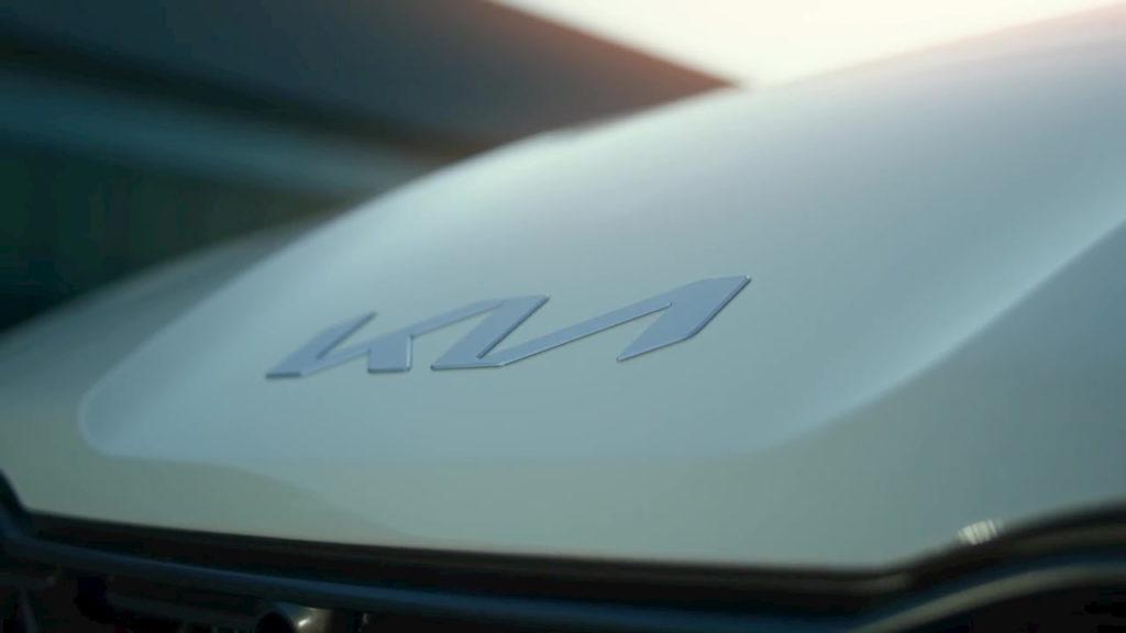 Kia EV6 Kia logo