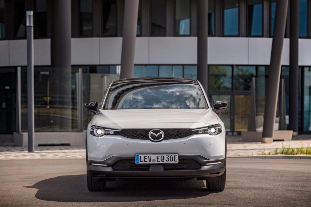 Mazda MX-30 EV electric front