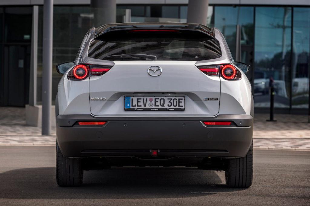 Mazda MX-30 EV electric rear