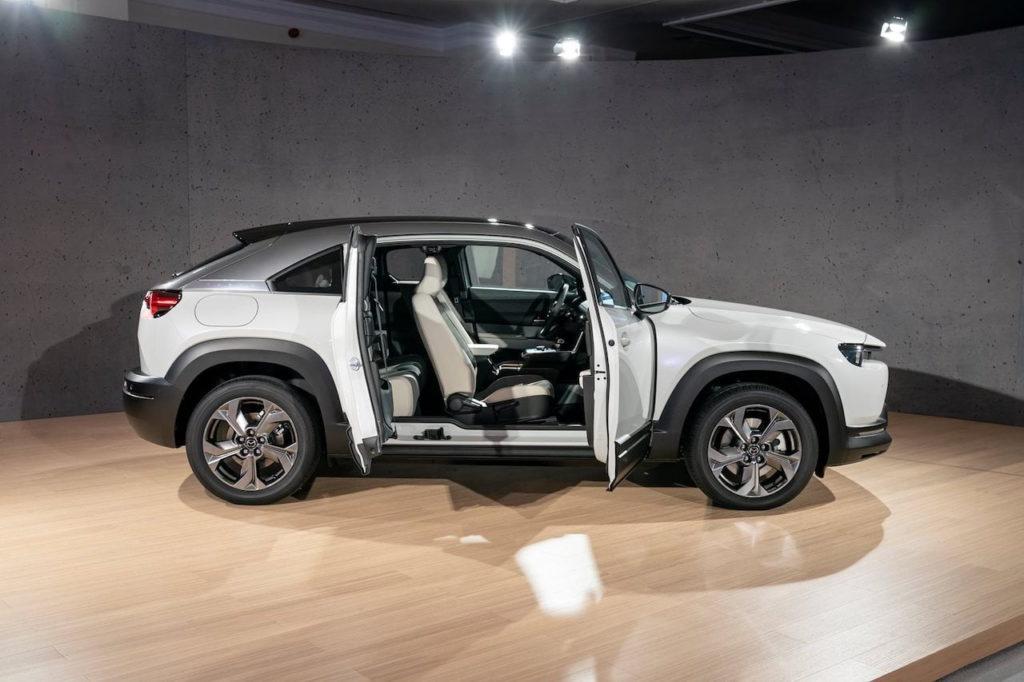 Mazda MX-30 doors suicide doors cabin studio