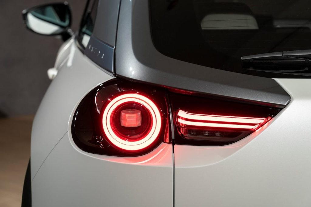 Mazda MX-30 tail lamp studio