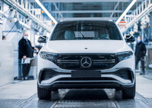 Mercedes EQA front factory Germany