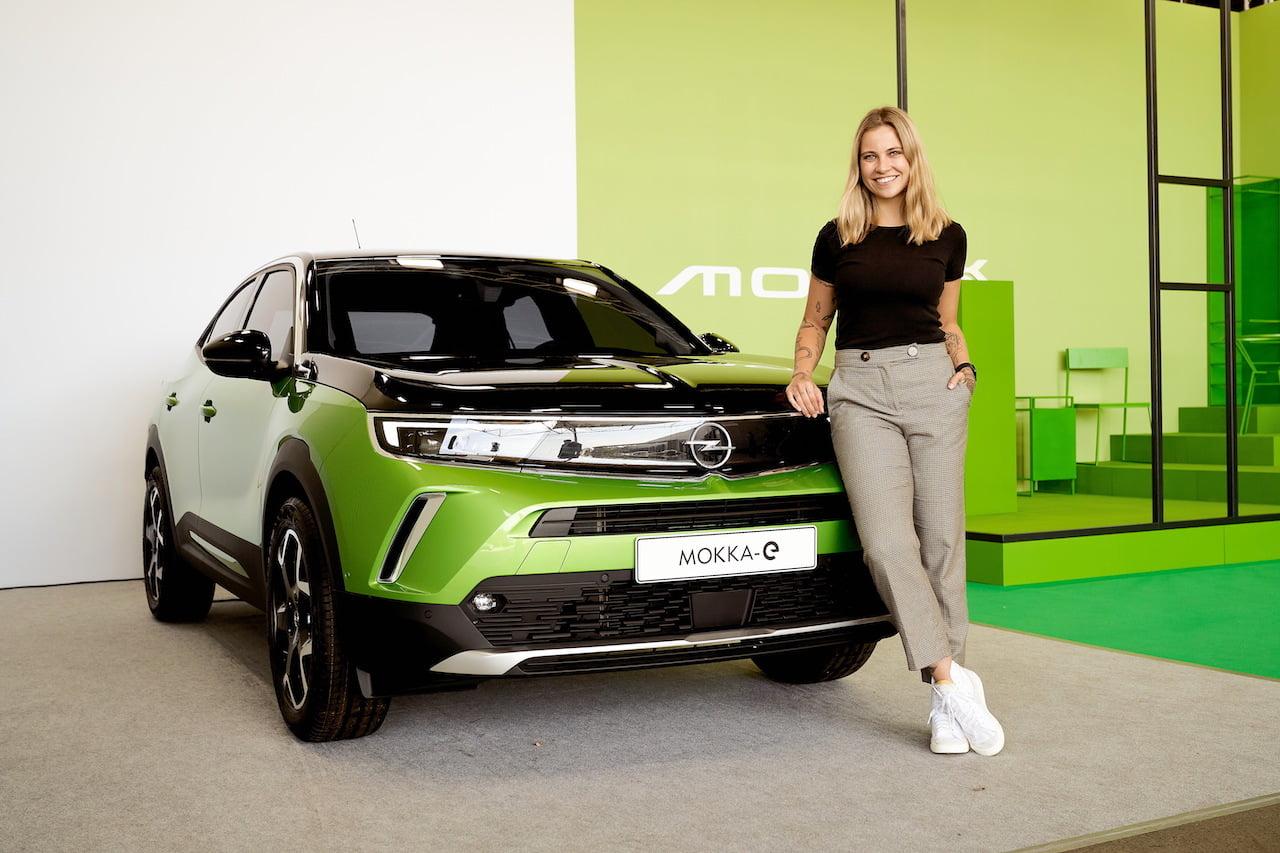 Opel Mokka-e electric live Melina Sophie