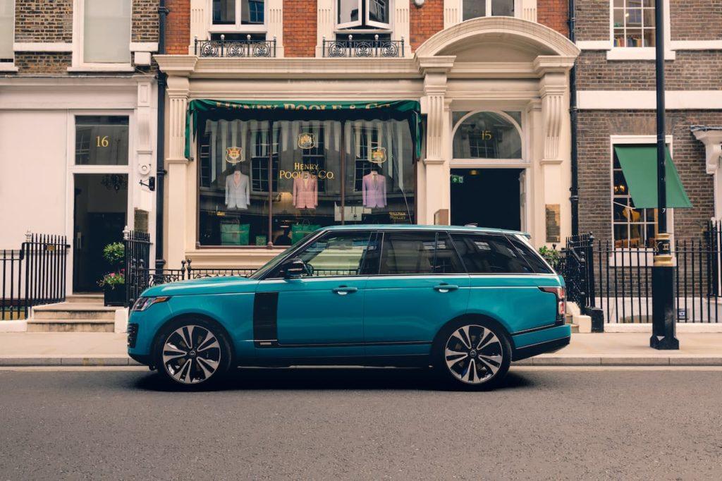 Range Rover 50th Anniversary profile side