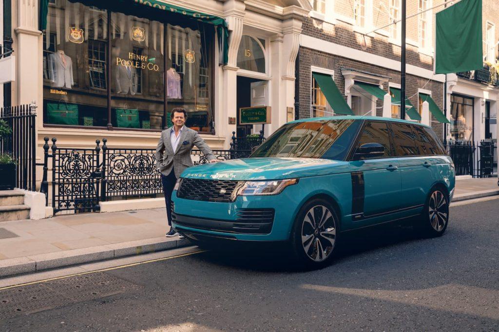 Range Rover Gerry McGovern 50th Anniversary