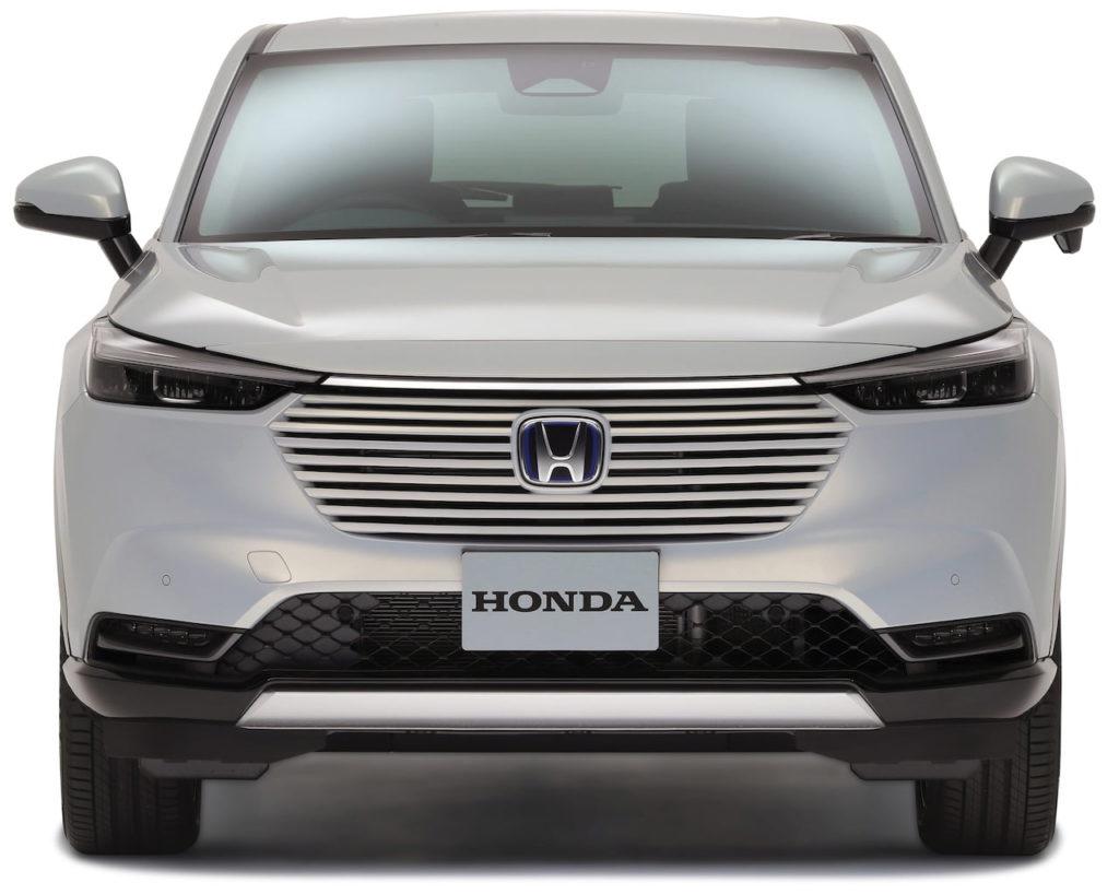 2022 Honda HR-V front Vezel