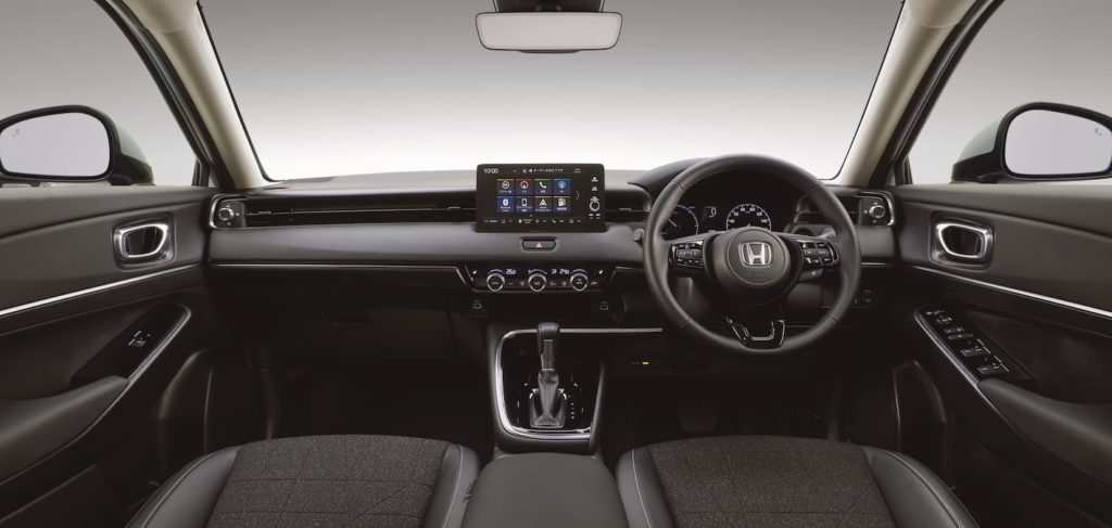 2022 Honda HR-V interior dashboard Vezel