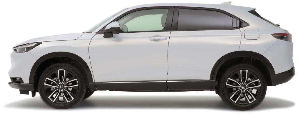 2022 Honda HR-V profile side Vezel