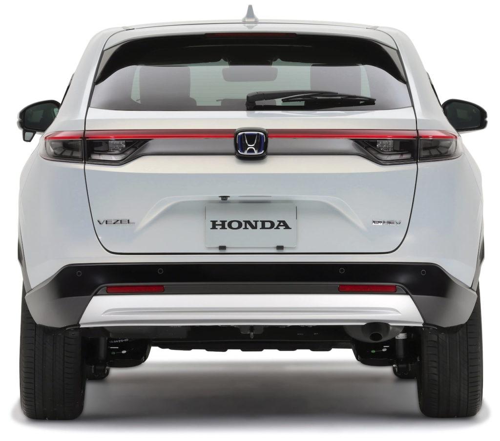 2022 Honda HR-V rear Vezel