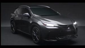 2022 Lexus NX front quarters leaked image