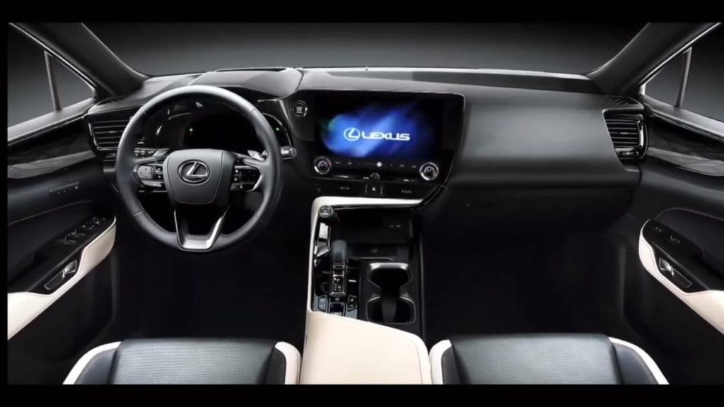 2022 Lexus NX interior dashboard leaked