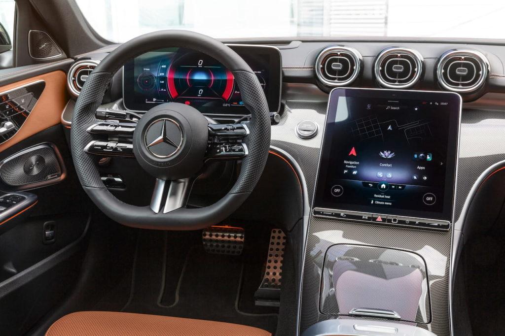 Mercedes virtual instrument cluster, second-gen MBUX
