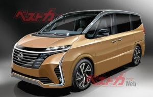 2022 Nissan Serena rendering