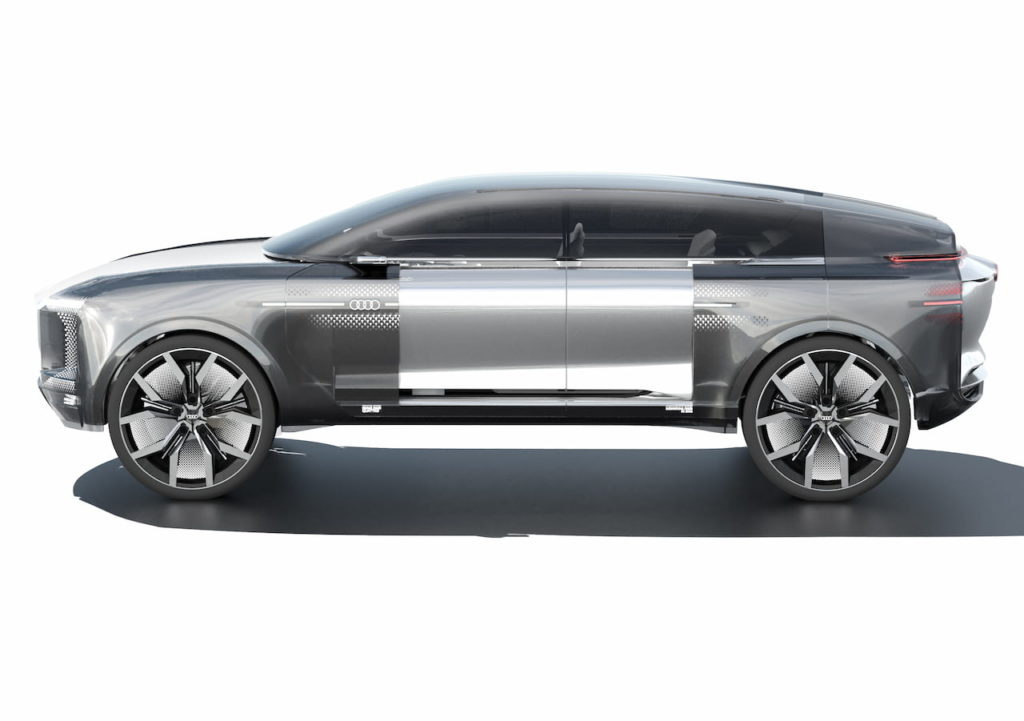 Audi electric SUV render, not directly related to the Audi Landjet