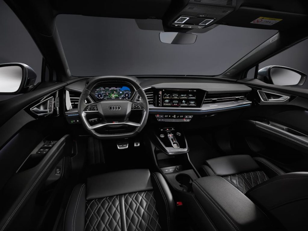 Audi interior that is to inspire the Audi Q9