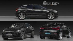 Genesis GV60 Genesis JW renderings