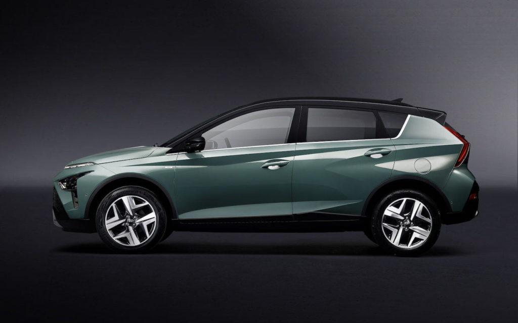 Hyundai Bayon profile side